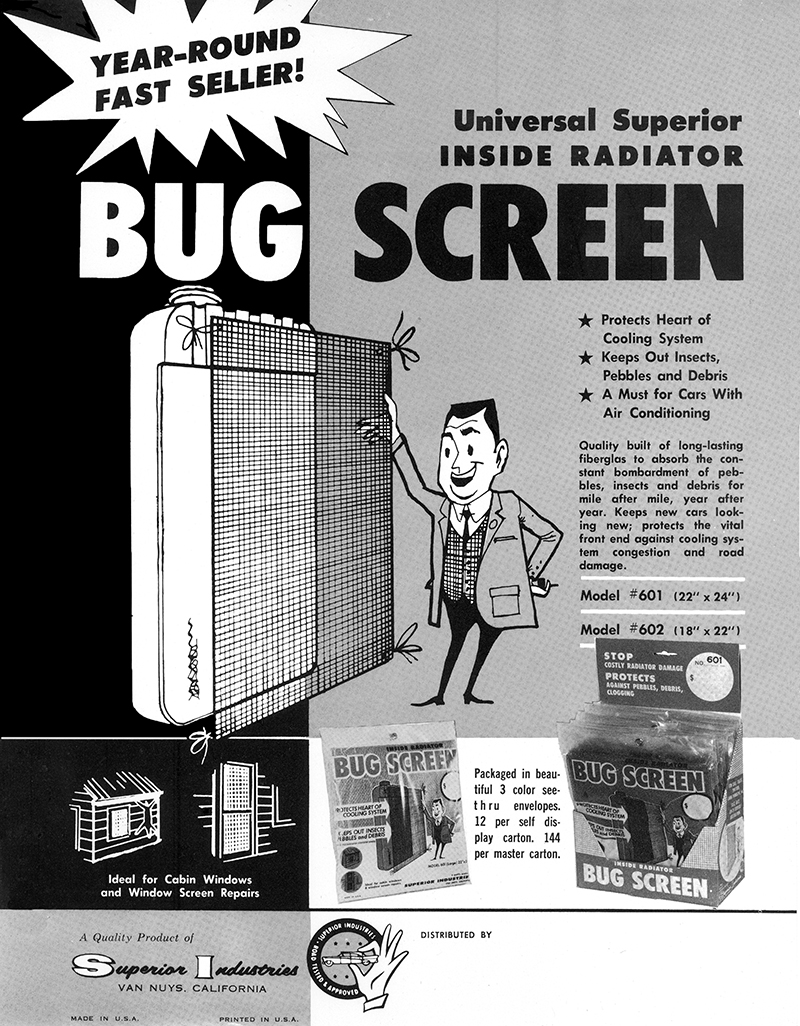 History - Superior Industries International - Bug-Screen