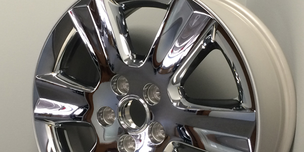 Manufactured Wheels  available in a variety of finishes - chromeclad